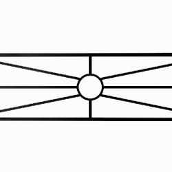 Ограда «Солнышко»