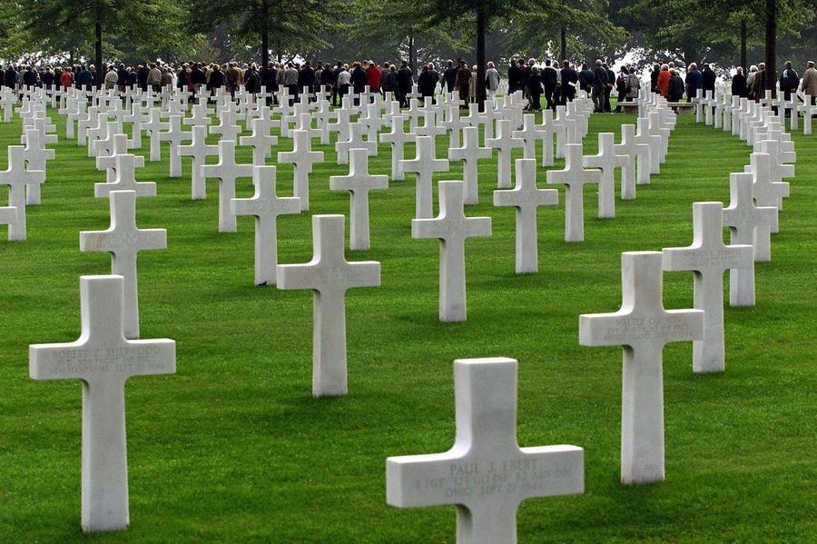Надгробные памятники в Америке