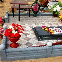 Облагораживание могилы своими руками