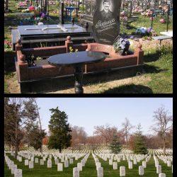 Отличия западных памятников от российских